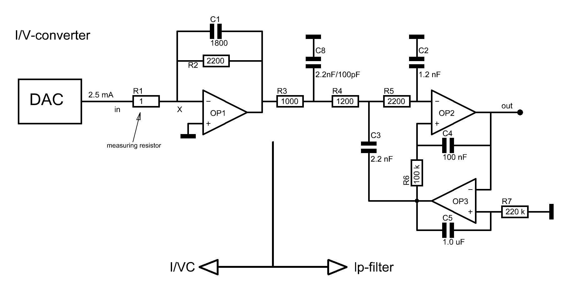I V Converter Diy Operational Amplifier Schematic Before The Circuits Are Put Together They Will Be Simulated With Microsim8 A More Then Ten Years Old Sw Package On Pc Which Satisfies
